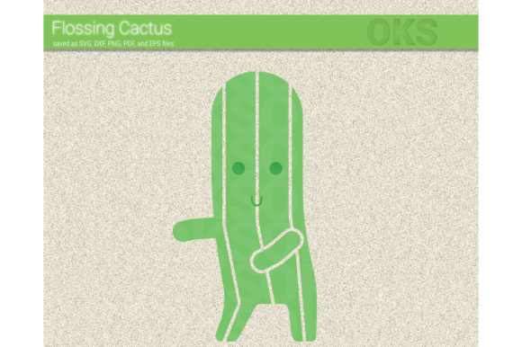 Download Free Floss Dance Cactus Svg Vector Flossing Graphic By Crafteroks Creative Fabrica for Cricut Explore, Silhouette and other cutting machines.