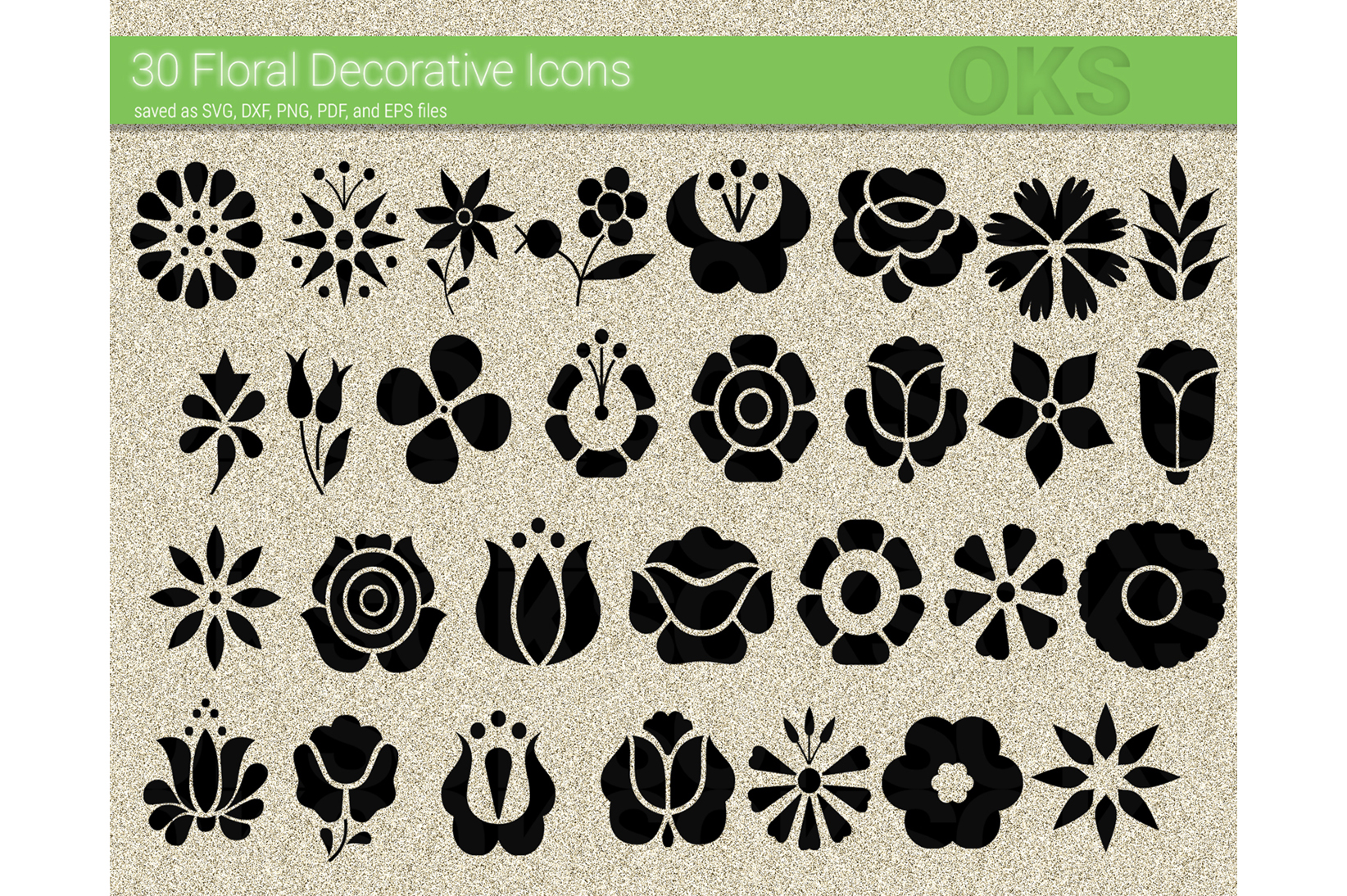 Flower Icon Floral Svg Vector Graphic By Crafteroks Creative