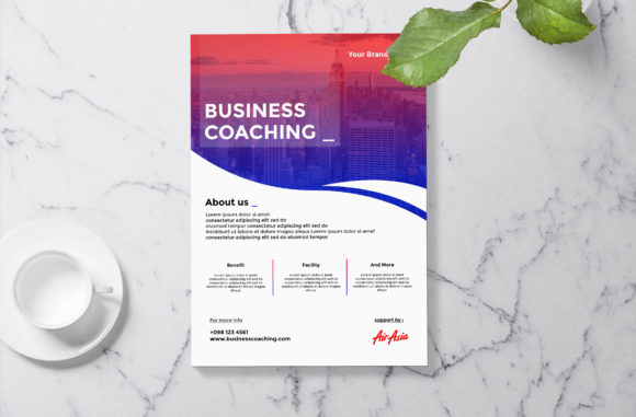 Flyer Business Template Graphic By riskysalvis