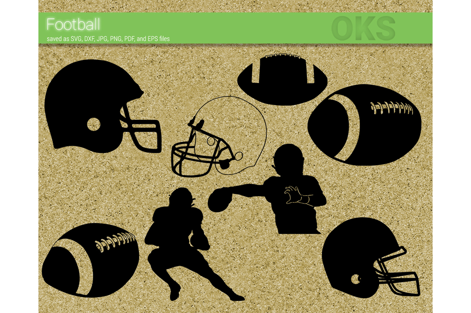 Download Free Football Graphic By Crafteroks Creative Fabrica for Cricut Explore, Silhouette and other cutting machines.