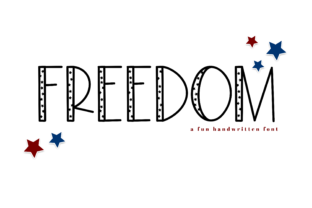 Freedom Font By KA Designs