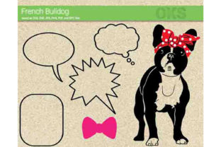 Download Free French Bulldog Svg Vector Graphic By Crafteroks Creative Fabrica for Cricut Explore, Silhouette and other cutting machines.
