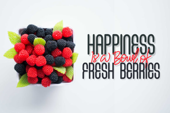 Fresh Berries Font By InspiraType Image 7