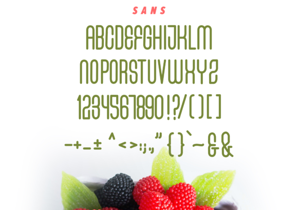 Fresh Berries Font By InspiraType Image 6
