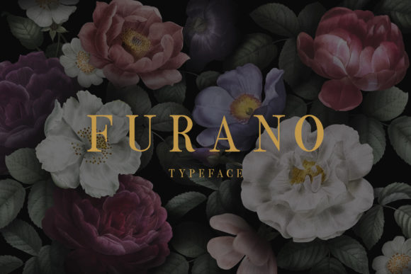 Print on Demand: Furano Display Font By e.myself12