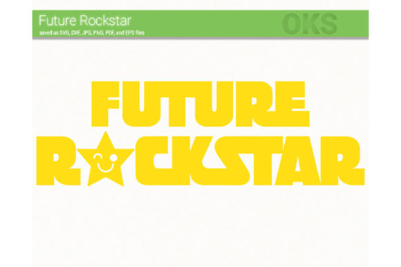 Download Free Future Rockstar Svg Vector Graphic By Crafteroks Creative Fabrica for Cricut Explore, Silhouette and other cutting machines.