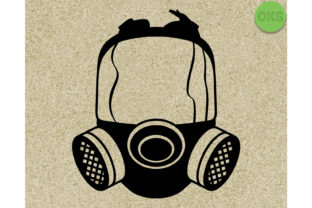 Download Free Gas Mask Vector Graphic By Crafteroks Creative Fabrica SVG Cut Files