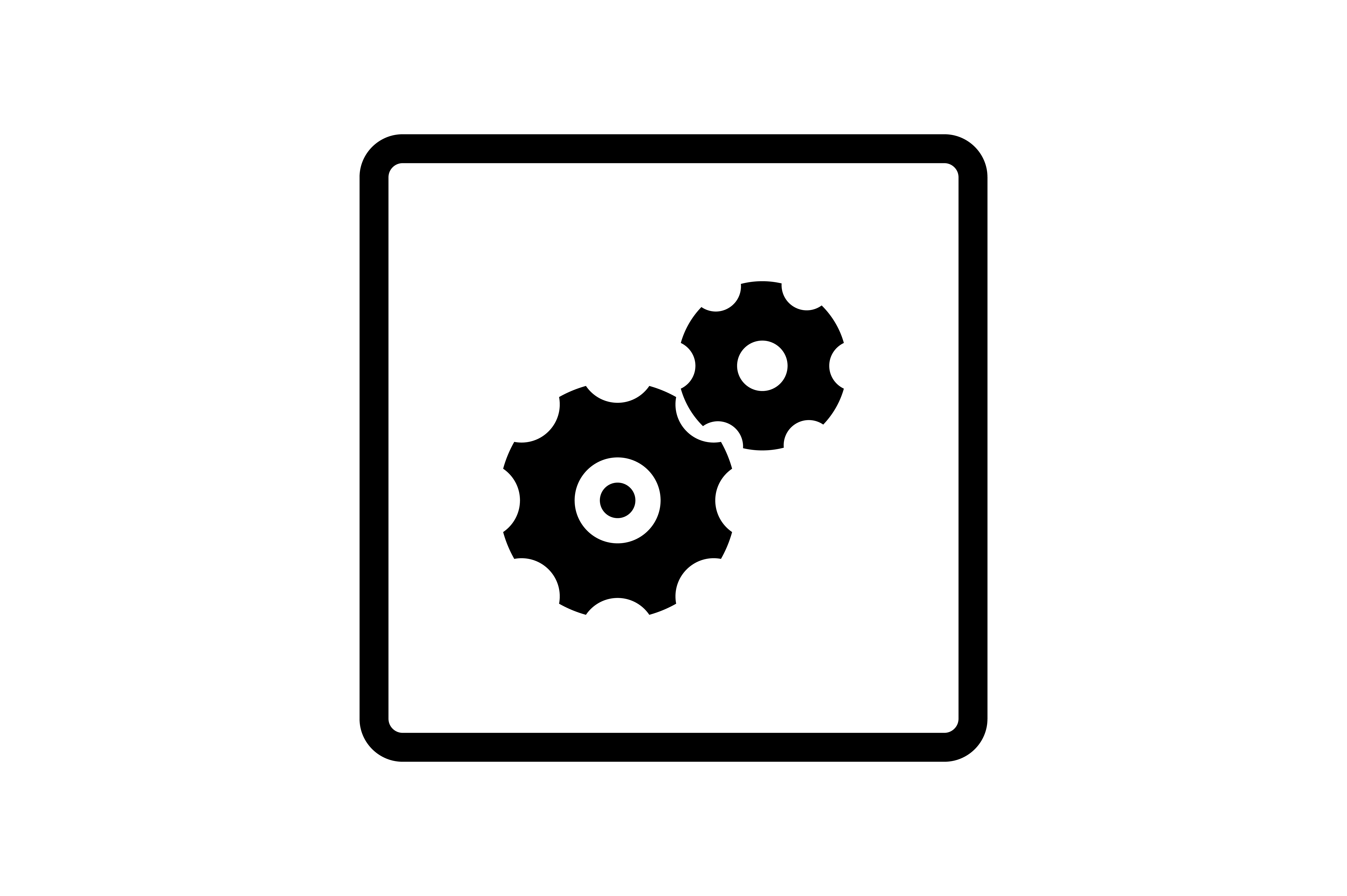 Download Free Gear Icon Graphic By Zafreeloicon Creative Fabrica for Cricut Explore, Silhouette and other cutting machines.