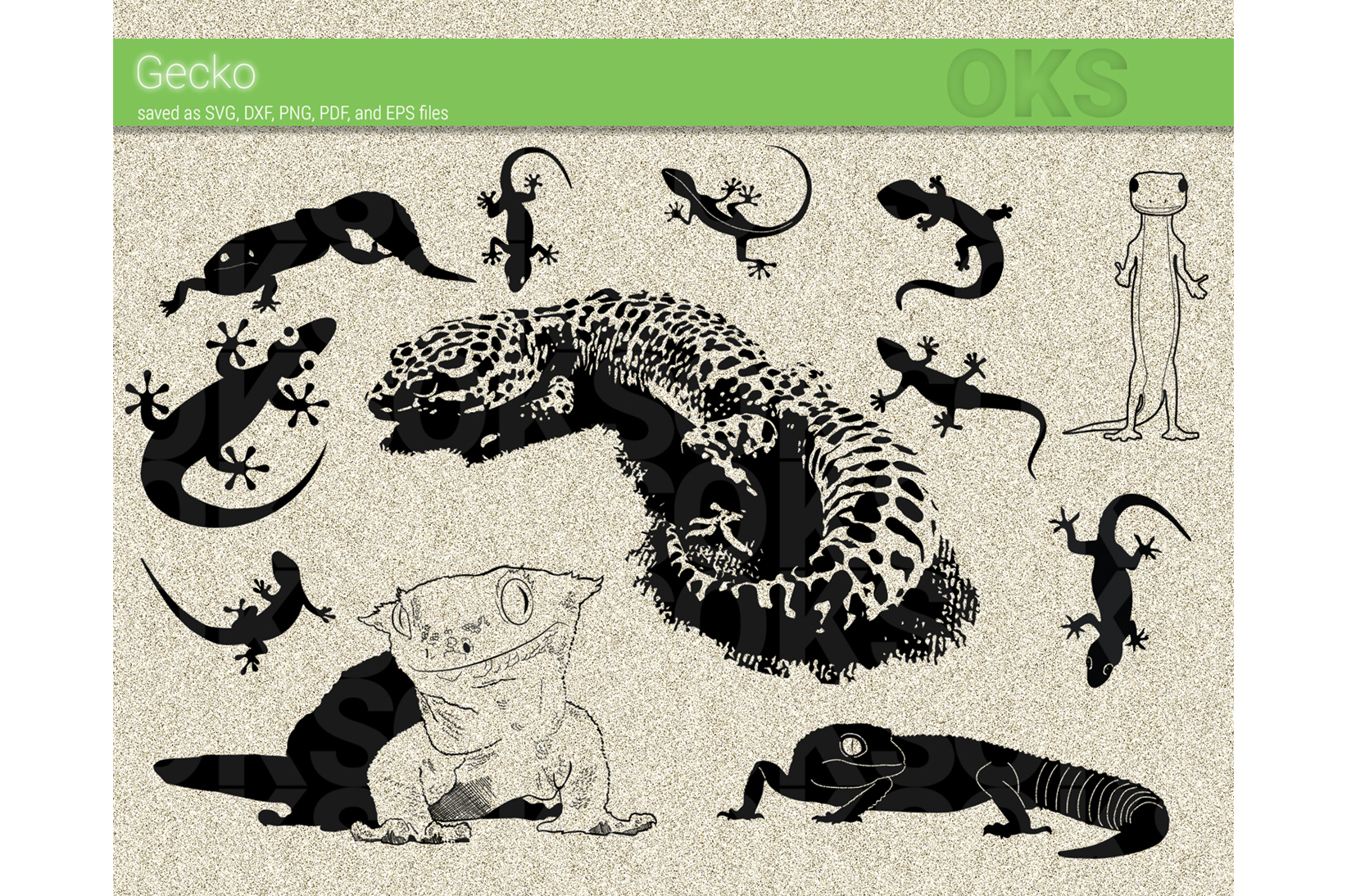 Download Free Gecko Graphic By Crafteroks Creative Fabrica for Cricut Explore, Silhouette and other cutting machines.