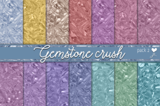 Gemstone Crush (Pack 2) Graphic By JulieCampbellDesigns