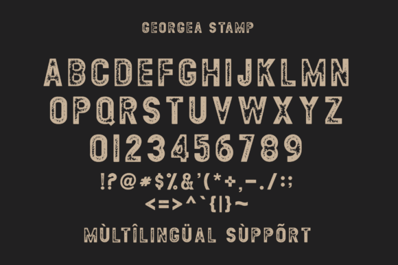 Print on Demand: Georgea Sans Serif Font By fanastudio - Image 11