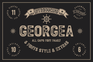Georgea Font By fanastudio
