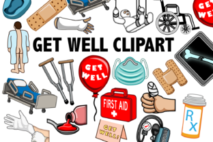 Get Well Clipart Graphic By Mine Eyes Design