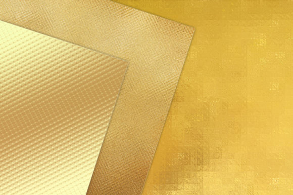 Print on Demand: Gold Foil Textures50 Background Graphic Textures By Creative Paper - Image 2