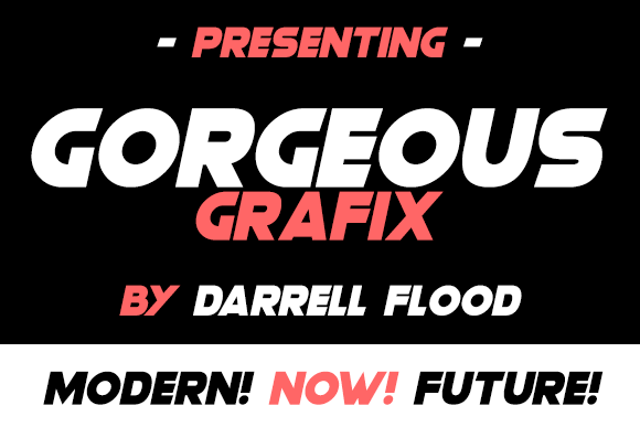 Print on Demand: Gorgeous Grafix Sans Serif Font By Dadiomouse