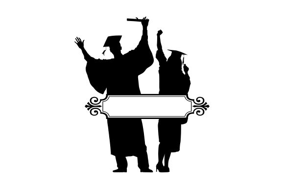 Download Free Graduation Svg Cut File By Creative Fabrica Crafts Creative for Cricut Explore, Silhouette and other cutting machines.