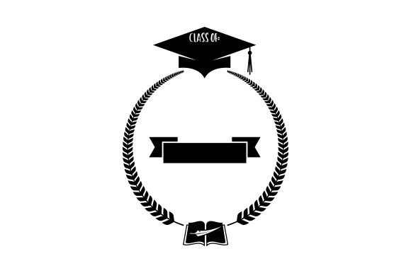 Download Free Graduation Frame Svg Cut File By Creative Fabrica Crafts for Cricut Explore, Silhouette and other cutting machines.