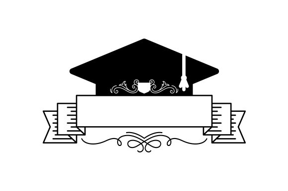 Download Free Graduation Monogram Svg Cut File By Creative Fabrica Crafts for Cricut Explore, Silhouette and other cutting machines.
