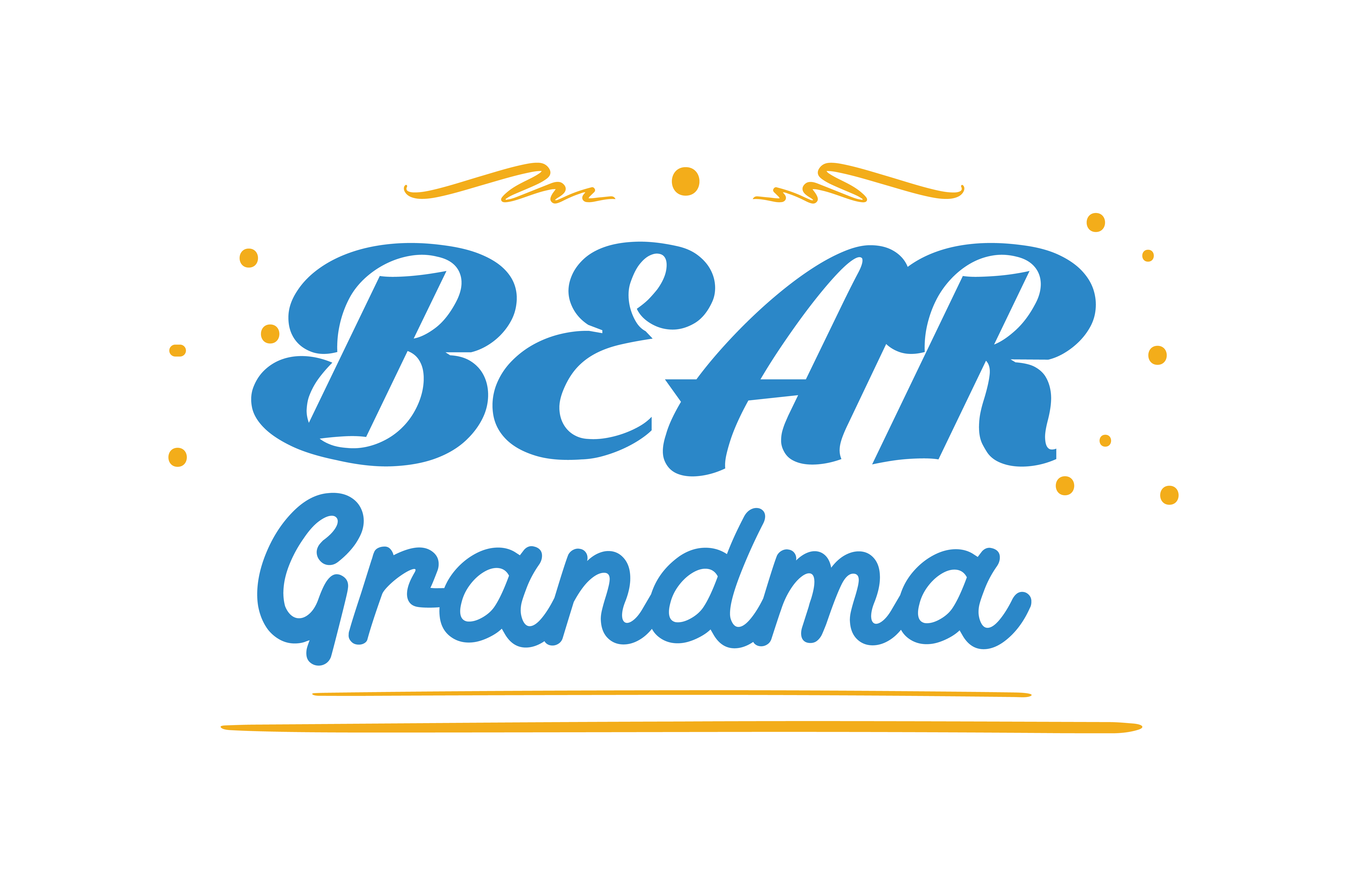 Download Free Grandma Bear Quote Svg Cut Graphic By Thelucky Creative Fabrica for Cricut Explore, Silhouette and other cutting machines.