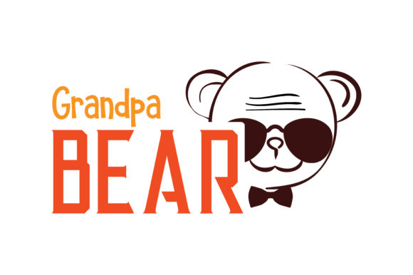 Download Free Grandpa Bear Quote Svg Cut Graphic By Thelucky Creative Fabrica for Cricut Explore, Silhouette and other cutting machines.