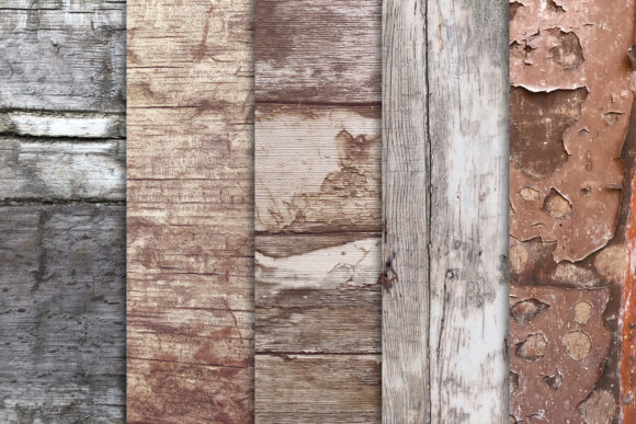 Grunge Wood Textures X10 Graphic Textures By SmartDesigns - Image 2