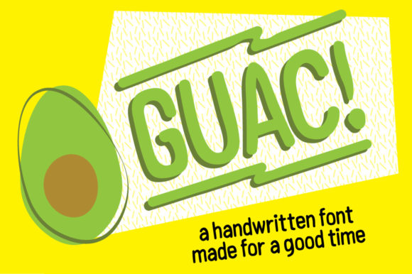 Print on Demand: Guac Sans Serif Font By Jmoroun