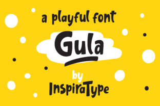 Gula Display Font By InspiraType
