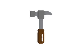 Download Free Hammer Vector Graphic By Hellopixelzstudio Creative Fabrica for Cricut Explore, Silhouette and other cutting machines.