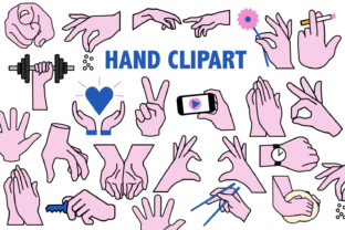 Hands Clipart Graphic By Mine Eyes Design
