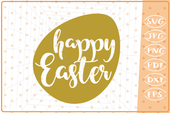 Download Free Happy Easter Egg Svg Cutting File Graphic By Cute Graphic for Cricut Explore, Silhouette and other cutting machines.
