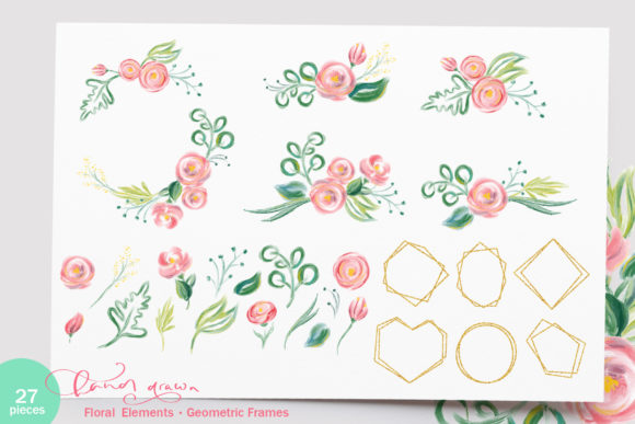 Happy Mother`s Day Vector Flower Graphic Illustrations By Happy Letters - Image 4