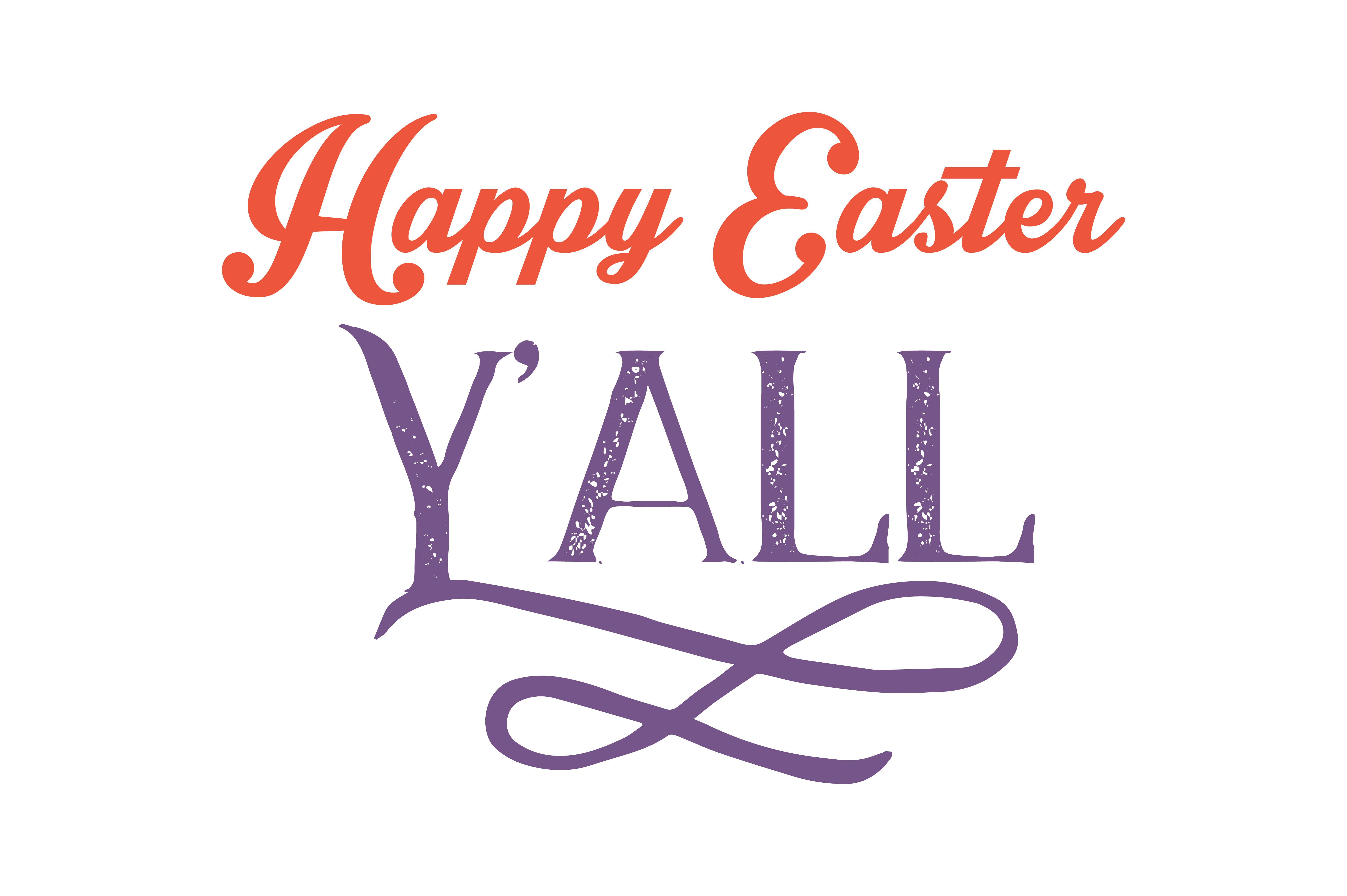 Download Free Happy Easter Y All Quote Svg Cut Graphic By Thelucky Creative for Cricut Explore, Silhouette and other cutting machines.