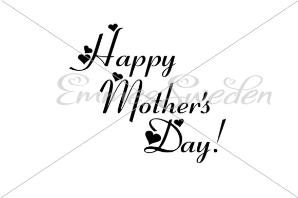 Download Free Happy Mothers Day Svg Graphic By Emmessweden Creative Fabrica for Cricut Explore, Silhouette and other cutting machines.