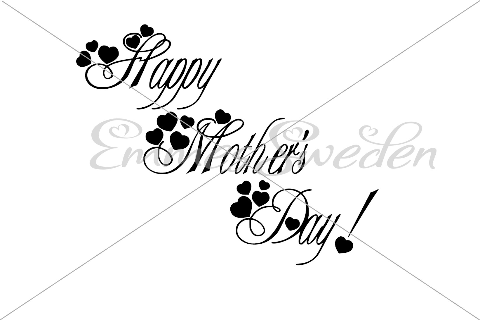 Download Free Happy Mothers Day Svg File Graphic By Emmessweden Creative Fabrica for Cricut Explore, Silhouette and other cutting machines.