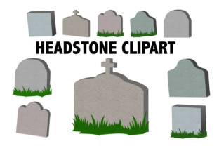 Headstone Clipart Graphic By Mine Eyes Design