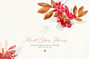 Heart Colors Flowers Graphic By webvilla