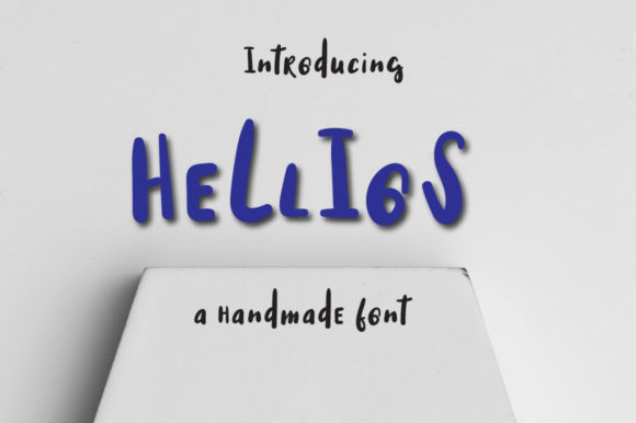 Print on Demand: Helios Display Font By Autumn Designs