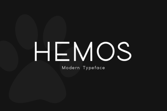 Print on Demand: Hemos Display Font By FontCove - Image 1