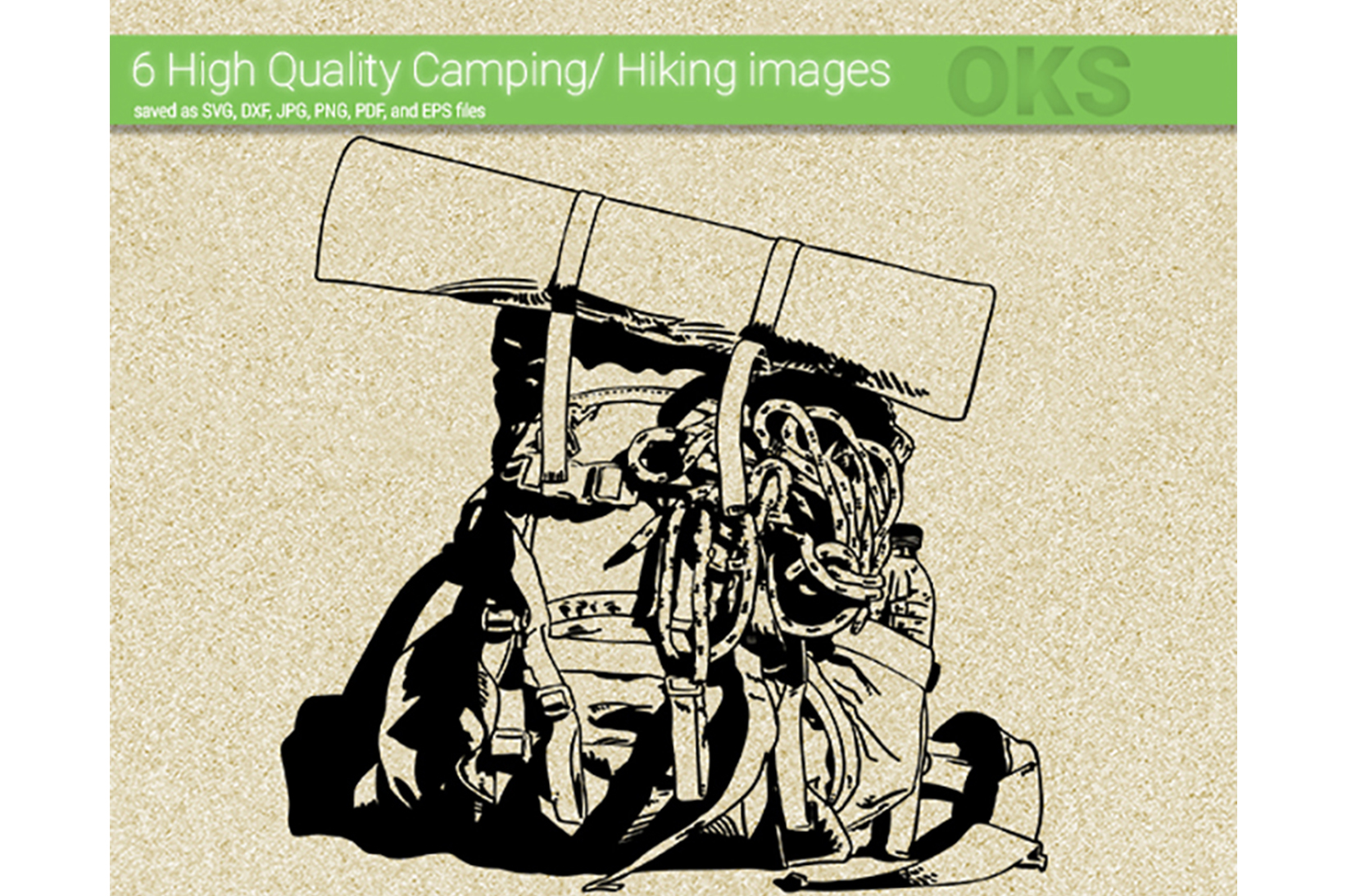 Download Free Hiking Camping Vector Graphic By Crafteroks Creative Fabrica SVG Cut Files