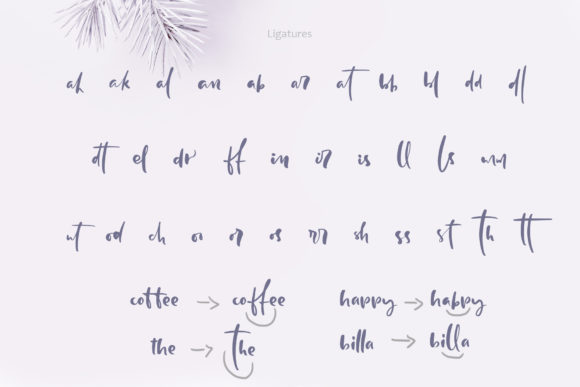 Print on Demand: Holly Jolly Script & Handwritten Font By Happy Letters - Image 6