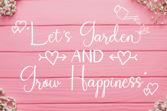 Print on Demand: Homegarden Duo Script & Handwritten Font By kammaqsum - Image 4