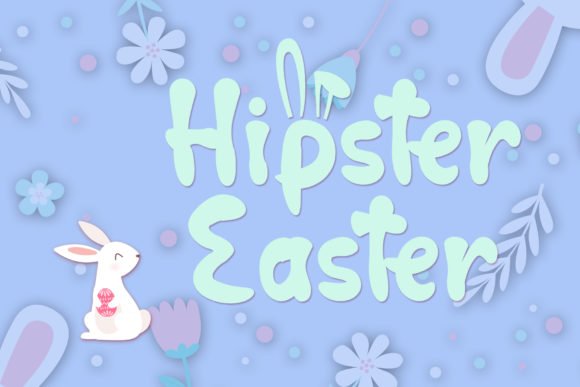Download Free Hop Hop Bunny Font By Dmletter31 Creative Fabrica SVG Cut Files