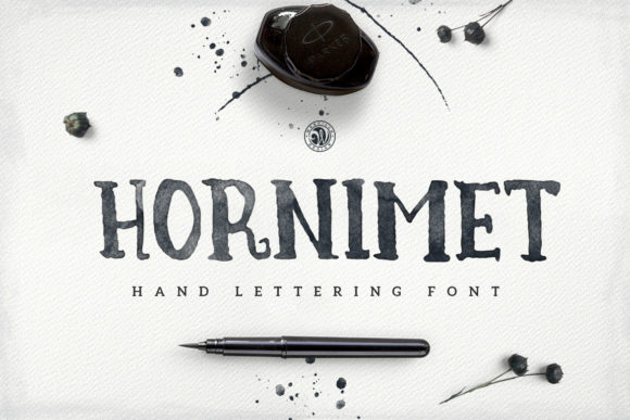 Print on Demand: Hornimet Manuscrita Fuente Por webvilla