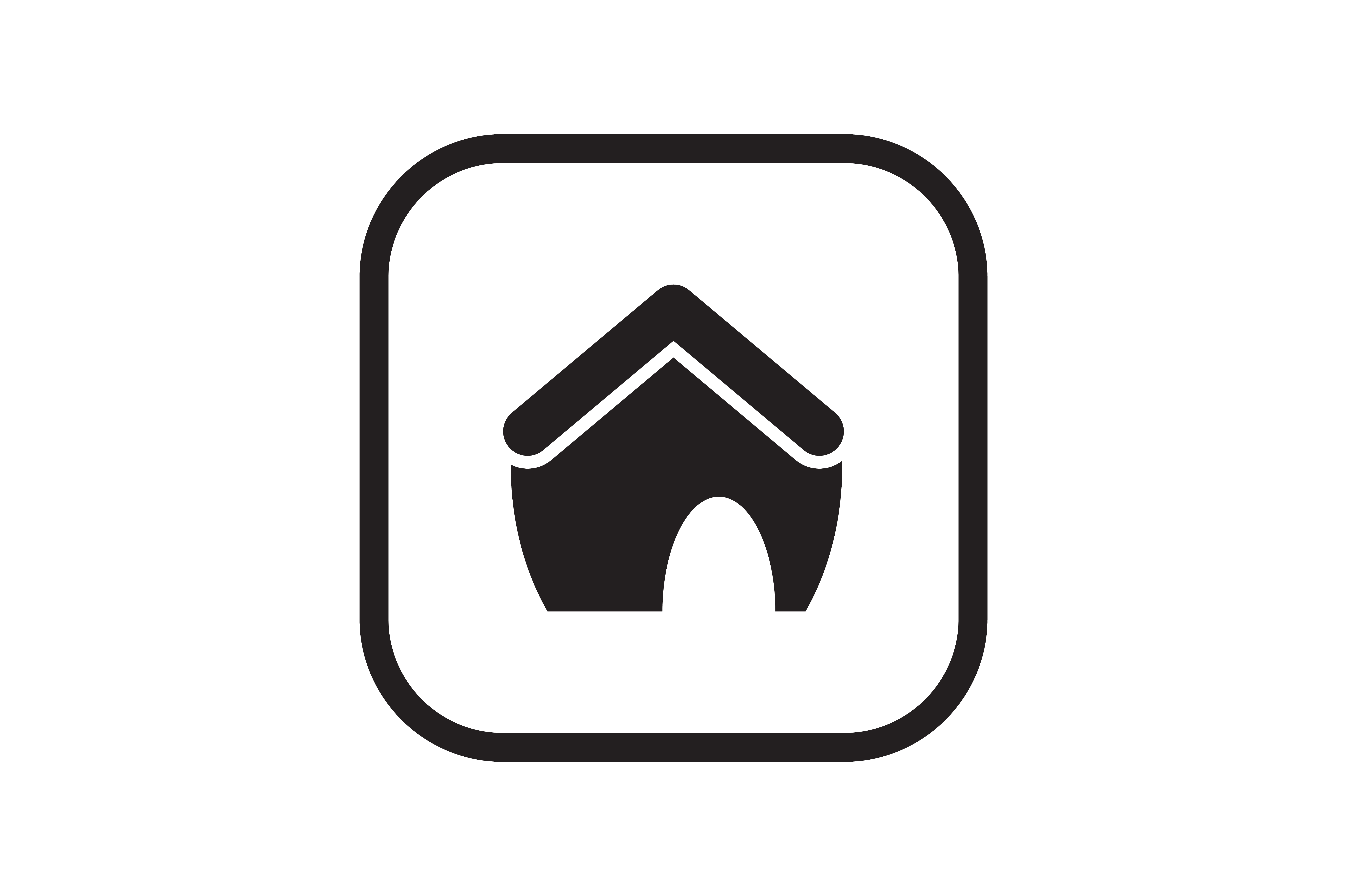 Download Free House Building Icon Graphic By Zafreeloicon Creative Fabrica for Cricut Explore, Silhouette and other cutting machines.