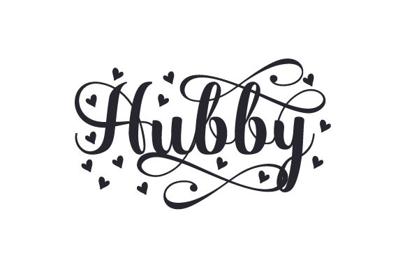 Download Free Hubby Svg Cut File By Creative Fabrica Crafts Creative Fabrica for Cricut Explore, Silhouette and other cutting machines.