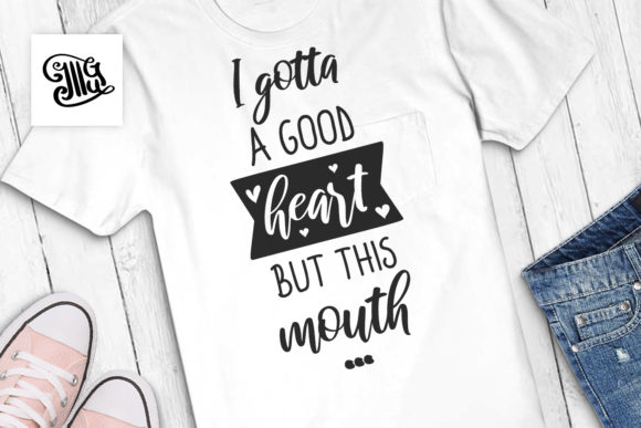 I Gotta a Good Heart but Graphic Crafts By Illustrator Guru - Image 1
