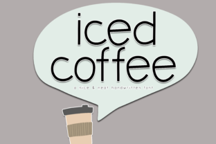 Iced Coffee Font By KA Designs