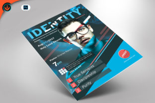 Download Free Identity Church Flyer Template Graphic By Seraphimchris for Cricut Explore, Silhouette and other cutting machines.