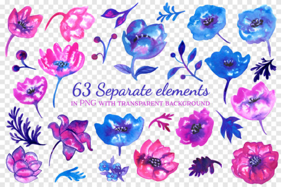 Print on Demand: Ink Flowers Graphic Illustrations By annamagenta - Image 2