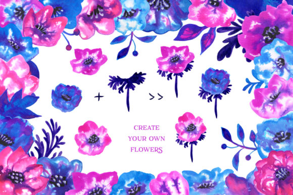 Print on Demand: Ink Flowers Graphic Illustrations By annamagenta - Image 7
